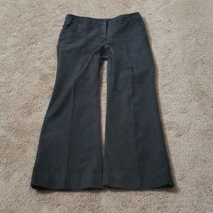 Wide leg textured Jean's